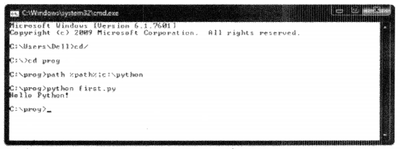 Python Programming - First Python Program chapter 1 img 2