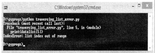 Python Programming - Python Lists chapter 5 img 1