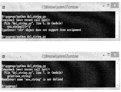 Python Programming - Python Strings chapter 5 img 1