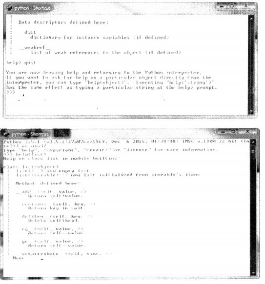 Python Programming - Python's Interactive Help chapter 1 img 3