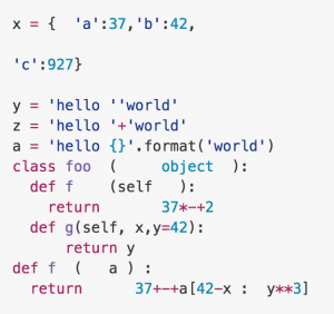 As you'll see on their github page, YAPF will take your ugly code
