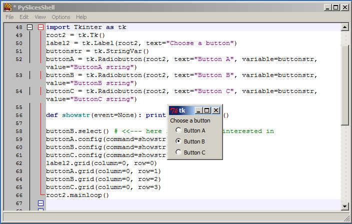 Now we can see the output of our code very easily