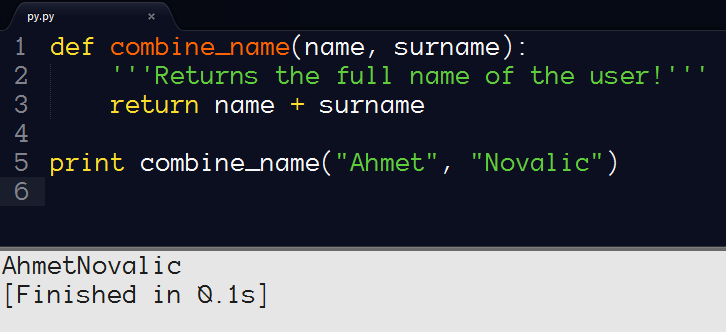 Syntax highlighting and builds