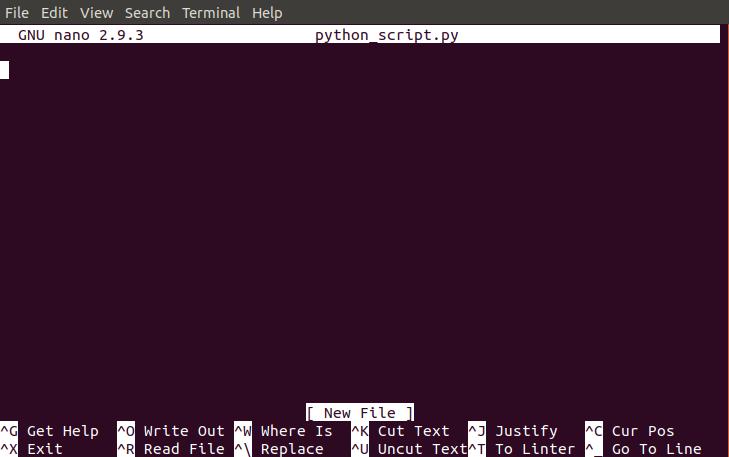 How to run Python scripts